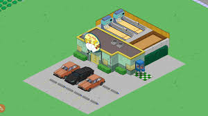 100 Simpsons House Plan Simple Town Designs Rooftop BowlingThe Tapped Out