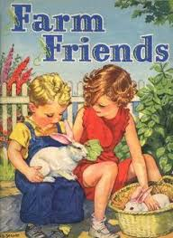Children And Bunnies Always Get An Aww