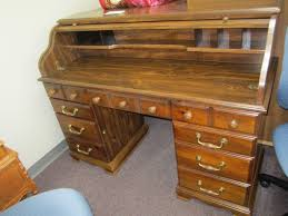 Ethan Allen Roll Top Desk by Inventory Gallery