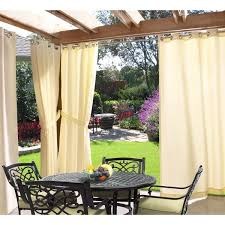 Walmart Grommet Top Curtains by Outdoor Curtains For Patio Walmart Youtube Sheer Grommet Top