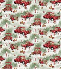 Christmas Cotton Fabric-Red Trucks & Scenic | JOANN Country Paradise Red Truck Fabric Panel Sewing Parts Online Fire Truck Fabric By The Yard Refighter Kids Etsy Collage Christmas Susan Winget Large Cotton 45 Food Marshall Dry Goods Company Trucks Main Black Beverlyscom Retro Door Hanger Unique Home Decor Wreath Ice Cream Pistachio Flannel By Just Married Honk For Love Print Joann Rustic Old Pickup On The Backyard Abandoned 2019 Tree 3d Digital Prting Waterproof And