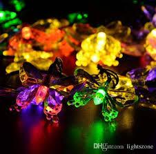 Christmas Led Outdoor Solar String Lights 20 LEDs Multi Color