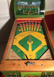For Every Hit A Small Metal Or Cardboard Player Appears In The Baseball Diamond And Circles Bases