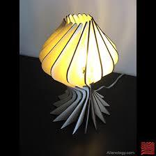 Laser Cut Lamp Shade by Bloom Table Lamp Laser Cut Plywood Pattern Shade Alien U2026 Flickr
