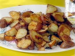 Oven Home Fries with Peppers and ions Recipe