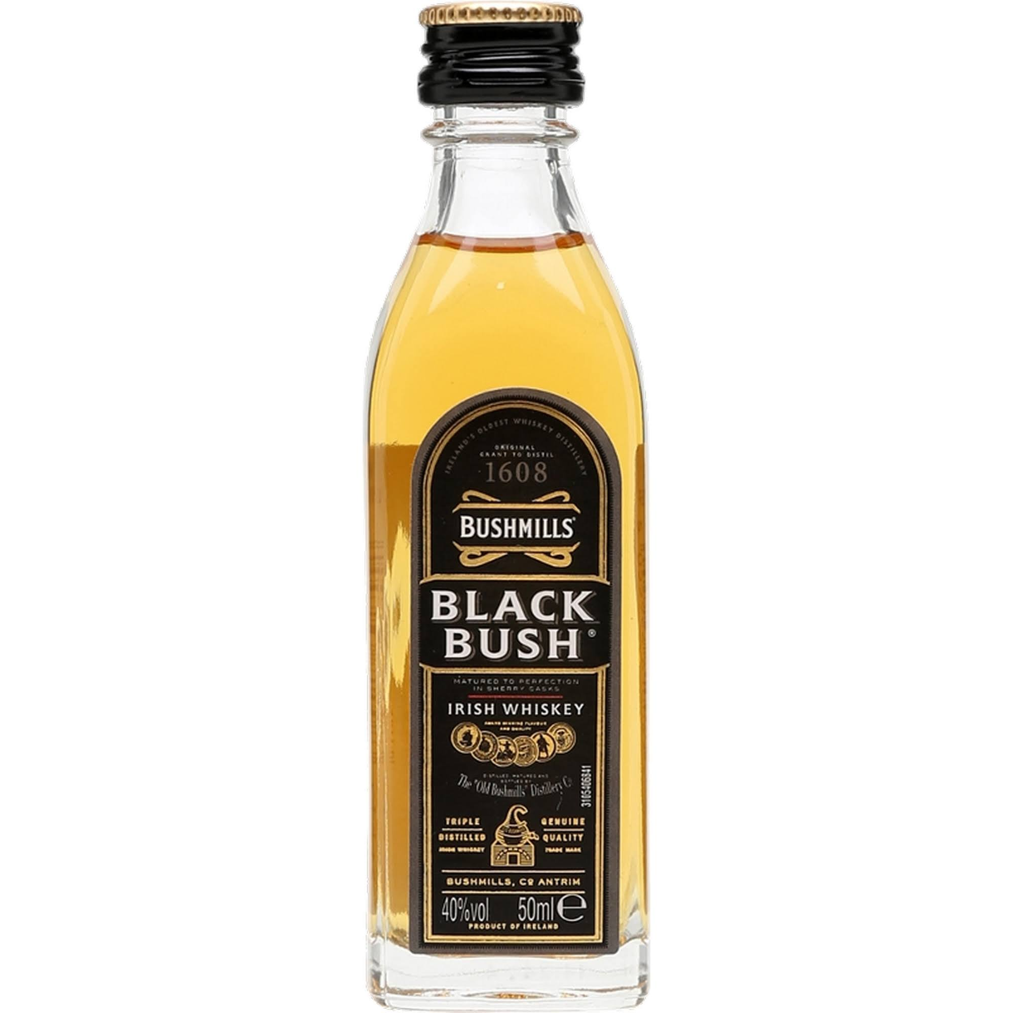 Bushmills Black Bush Miniature Whisky - 50ml