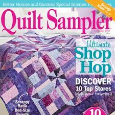 Quilt Sampler Table of Contents Fall Winter 2013