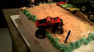 Monster Truck Birthday Cake. Blake's 5th B-day - YouTube Monster Truck Cake My First Wonky Decopac Decoset 14 Sheet Decorating Effies Goodies Pinkblack 25th Birthday Beth Anns Tire And 10 Cake Truck Stones We Flickr Cakecentralcom Edees Custom Cakes Birthday 2d Aeroplane Tractor Sensational Suga Its Fun 4 Me How To Position A In The Air Amazoncom Decoration Toys Games Design Parenting Ideas Little