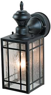 motion activated outdoor wall light bayside 9 1 2 high sensor