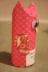 Valentines Day Crafts For Kids Easy To Make Owl From Reused Toilet Paper Roll Creative Idea