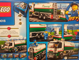 Lego 60016 City – Tank Truck | I Brick City
