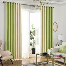 sommer stil leinen vorhänge für wohnzimmer blackout vorhang weiß rot beige blau grau grün solide vorhänge patchwork fenster trim