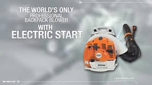 BR 450 C EF Backpack Blower With Electric Start