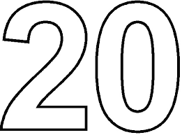 Free Coloring Pages Numbers 1 20 Of Number