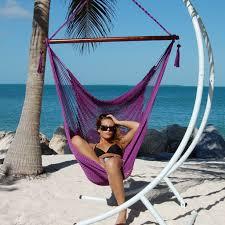 Siesta Brazilian Hammock Chair by Furniture Brazilian Hammock Chair With Purple Fabric Hammock And