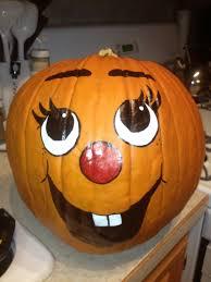 Minnie Mouse Pumpkin Painting Ideas by Painted Pumpkin Faces Halloween Pinterest Painted Pumpkin
