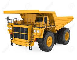 100 Haul Truck Mining Isolated