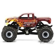 100 Monster Trucks Rc Proline Racing PRO322900 Chevy Silverado Truck Body