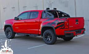 100 2015 Colorado Truck ANTERO 2016 2017 2018 Chevy Rear Bed Accent
