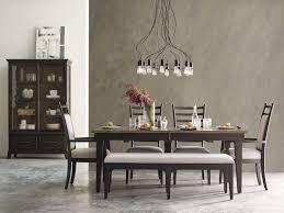 Kincaid Furniture Table 40x74 W 2 20LF Rankin Plank Road 702422
