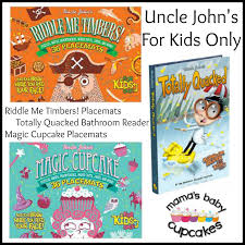 Uncle Johns Bathroom Reader Facts by Mama U0027s Baby Cupcakes