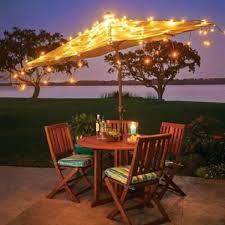 Outdoor Umbrellas with Lights