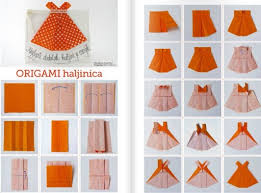 How To Make Origami Girls Skirts Step By DIY Tutorial Instructions