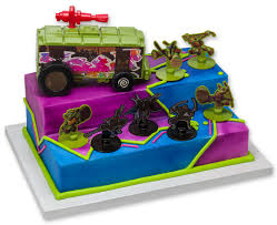 100 Teenage Mutant Ninja Turtle Monster Truck STM Stomp The Foot Signature DecoSet