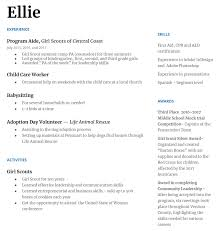 Girl Scouts Gives Girls A Readymade Resume - Girl Scout Blog How To Write What Your Objective Is In A Resume 10 Other Names For Cashier On Resume Samples Sme Simple Twocolumn Template Resumgocom The Best Font Size And Format Infographic Combination College Student Cover Letter Sample Genius Archives Mojohealy Learning Careers 20 Google Docs Templates Download Now Job Application Meaning Heading For Title My Worth Less Than Toilet Paper Rumes The Type Rumes