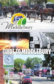 Guide To Middlebury 2017-2018 By Sherihowland.201middleburycham - Issuu