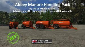 ls uk manure handling pack mod fs mods at farming