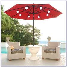 solar 9 lighted patio umbrella patios home decorating ideas