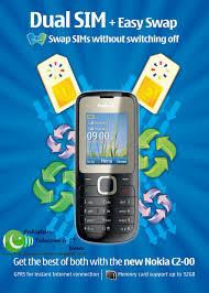 C2 00 X1 01 Nokia Dual Sim Mobile Phones now available in Pakistan