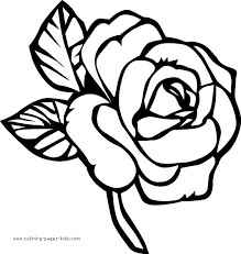 Cool Design Ideas Flower Coloring Pages For Kids Page Printable Sheets Flowers Color Plate
