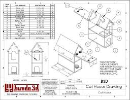 free building plans outdoor cat house homes zone