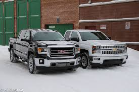 Review: 2014 Chevy Silverado And GMC Sierra – Wildsau Gmc Comparison 2018 Sierra Vs Silverado Medlin Buick 2017 Hd First Drive Its Got A Ton Of Torque But Thats Chevrolet 1500 Double Cab Ltz 2015 Chevy Vs Gmc Trucks Carviewsandreleasedatecom New If You Have Your Own Good Photos 4wd Regular Long Box Sle At Banks Compare Ram Ford F150 Near Lift Or Level Trucksuv The Right Way Readylift 2014 Pickups Recalled For Cylinderdeacvation Issue 19992006 Silveradogmc Bedsides 55 Bed 6 Bulge And Slap Hood Scoops On Heavy Duty Trucks
