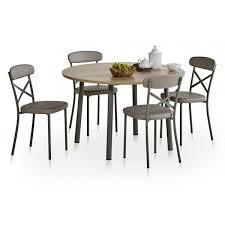table ronde de cuisine table de cuisine ronde avec allonge lustra