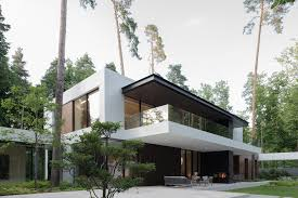 100 House In Forest Modern Designed To Become A Serene Sanctuary