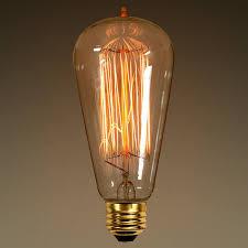 40 watt edison bulb 5 2 in length bulbs light bulb and lights