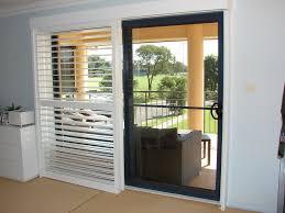 Decorative Traverse Rods For Sliding Glass Doors by Ideas Shutters For Sliding Glass Doors The Door Home Design