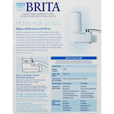 Culligan Water Filter Faucet Leaking by Brita On Tap Faucet Water Filter System Replacement Filters White