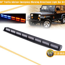34″ Red+Blue Car Police Emergency Traffic Advisor Vehicle Strobe LED ... Amazoncom Wislight Led Emergency Roadside Flares Safety Strobe Lighting Northern Mobile Electric Cheap Lights Find Deals On Line 2016 Gmc Sierra 3500hd Grill Pkg Youtube Unique Bargains White 6 2 Strip Flashing Boat Car Truck 30 Amberyellow 15w Warning Super Bright 54led Vehicle Amberwhite Flag Light Blazer Intertional 12volt Amber Beacon Umbrella Inspirational For