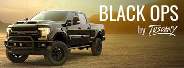 F-250 BLACK OPS BY TUSCANY