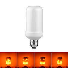 Halloween Flickering Light Bulbs by Online Shop 110v 220v E27 Creative Fire Flame Effect Night Light