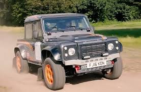 100 Bowler Truck Bulldog Is A Defender Rally Car With A Supercharged Jaguar V