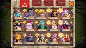 Castle Clash Pumpkin Duke Best Traits by Rolling 30000 Gems For Heroes On A 20000 Might Account Castle