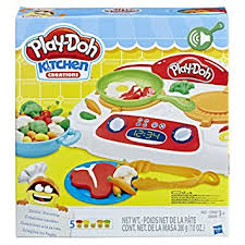Amazon Play Doh Kitchen Creations Sizzlin Stovetop Toys & Games