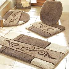 Royal Blue Bath Mat Set by Bathroom Rug Sets Contemporary Bathroom With Brown Bathroom Rug