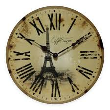 buy decorative wall clocks battery from bed bath beyond