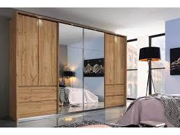 rauch fulda dreh und schwebetürenschrank spiegelschrank eiche wotan inkl beleuchtung 315x211 cm